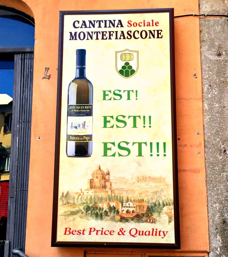 Montefiascone Est Est Est