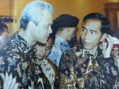 Ganjar Dengan Jokowi