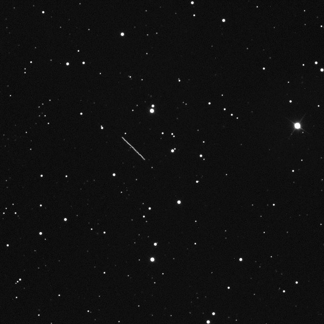 Asteroid 2012 DA14 Speeds Away (NASA, Marshall, 02/15/13)