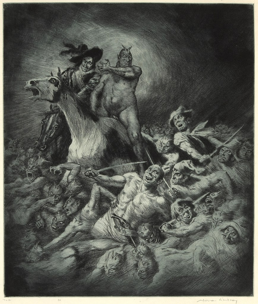Norman Lindsay - Powers of Earth, 1927