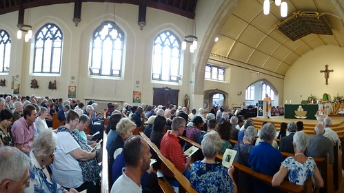 160717 - Retirement Mass for Canon Jim Pannett