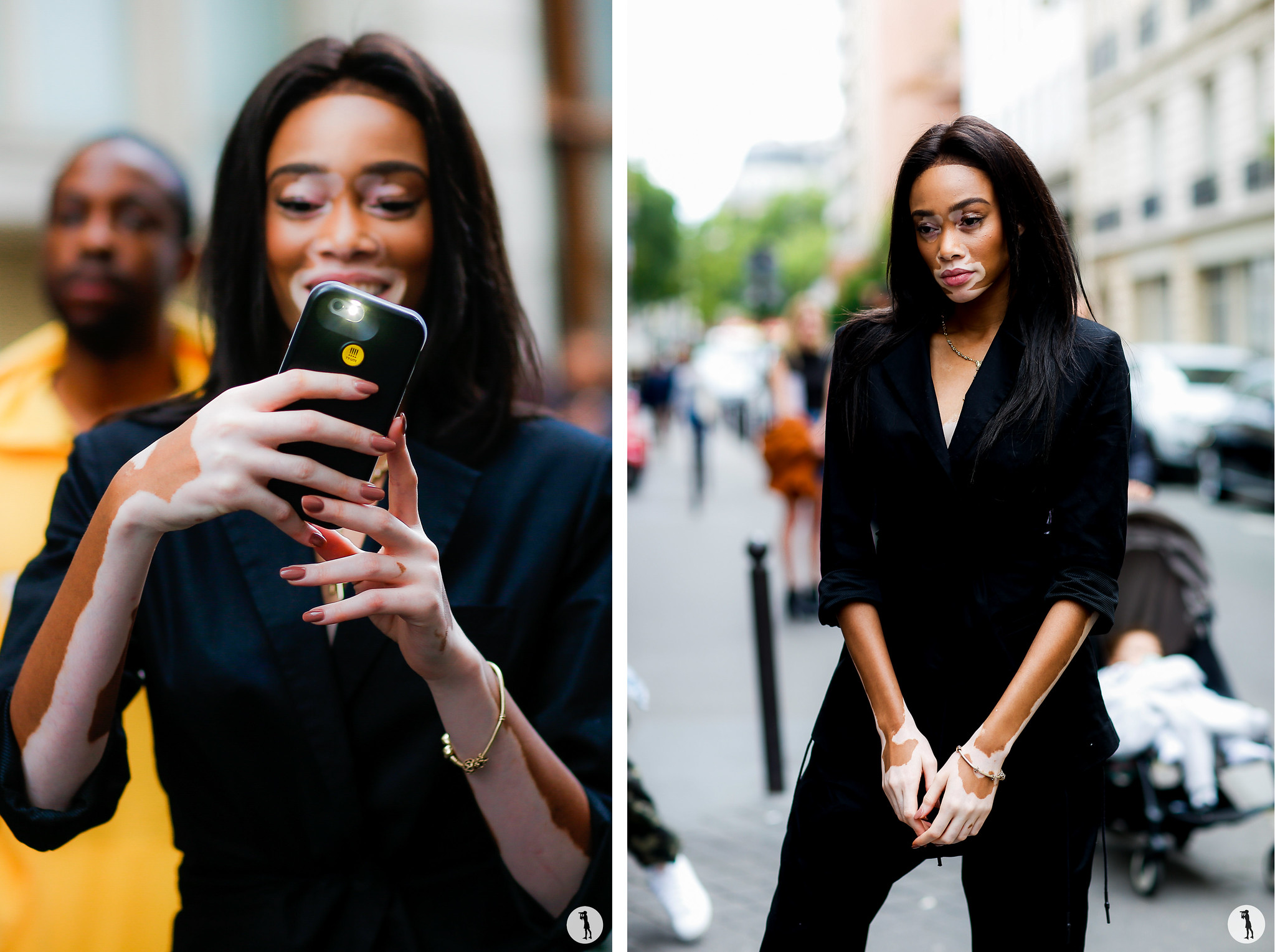 Street Style - Paris Fashion Week Menswear SS17