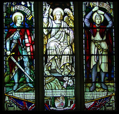 WWI: St Gabriel flanked by St George and St Martin