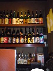 Bottles of SHOCHU!!!(130419-0226)