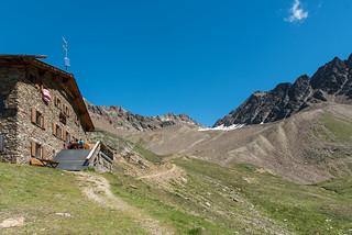 Oberretteshütte, 2670 m, Höllerscharte