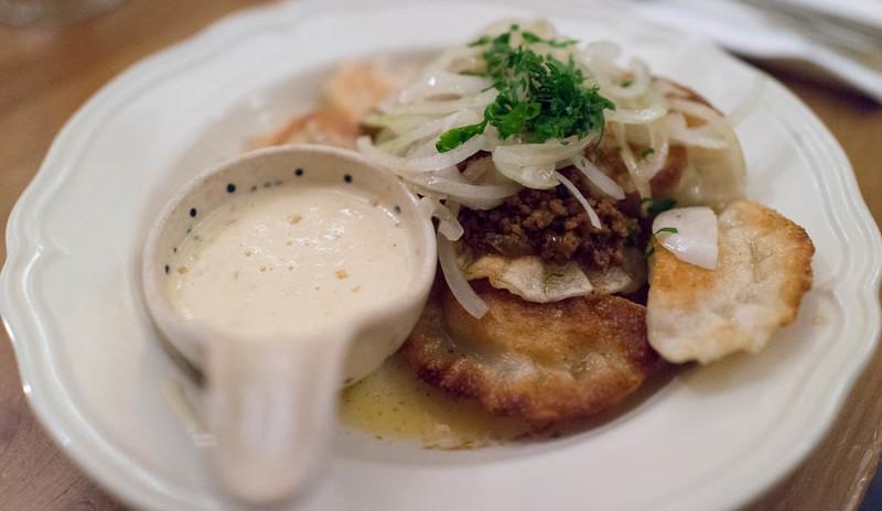 Les pierogi, un des plats polonais les plus connus et les plus appréciés. Photo de Charles Haynes @ Flickr