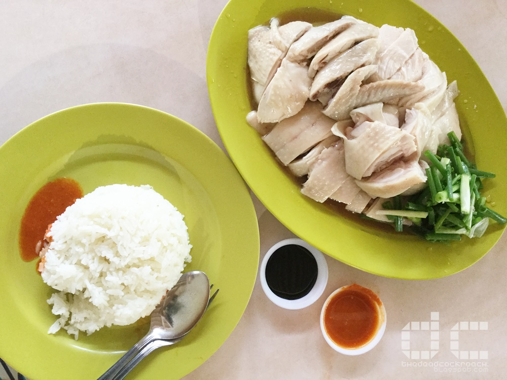chicken rice, food, hua kee chicken rice, redhill, redhill food centre, 焱, 华记鸡饭,singapore,food review,review,redhill market & food centre