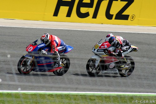 French riders Rossi and Masbou duelling | by Tim R-T-C