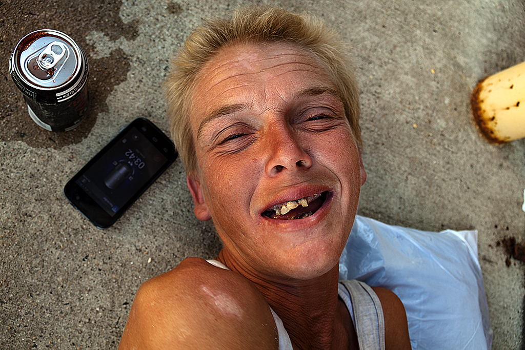 Amanda needing heroin--Camden 4