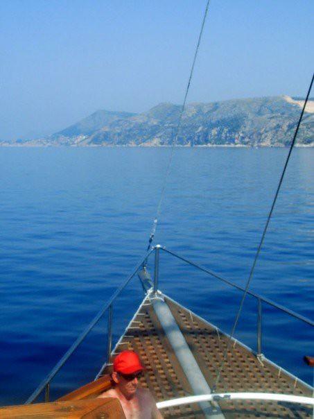 Boat around Croatia 2005