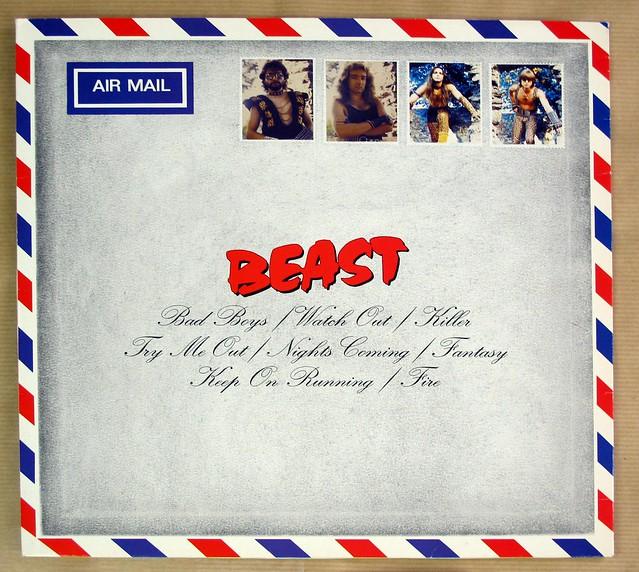 "BEAST THE LETTER ORIG METAL ENTERPRISES TONTRAGER 12"" LP VINYL"