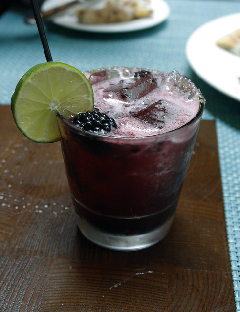 Blackberry Lime Rickey