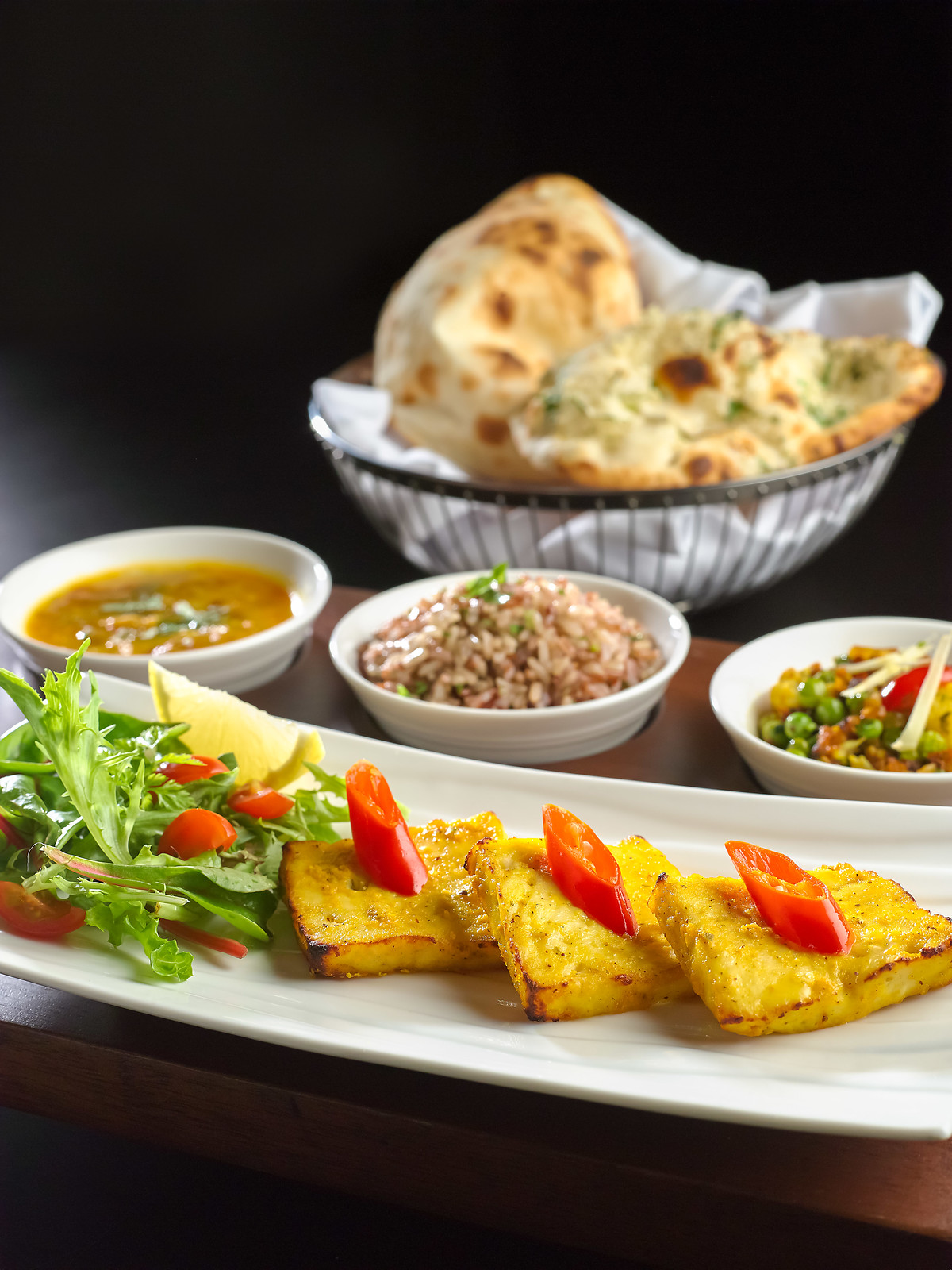 Indian Restaurants: Executive Set - Vegetarian (2)