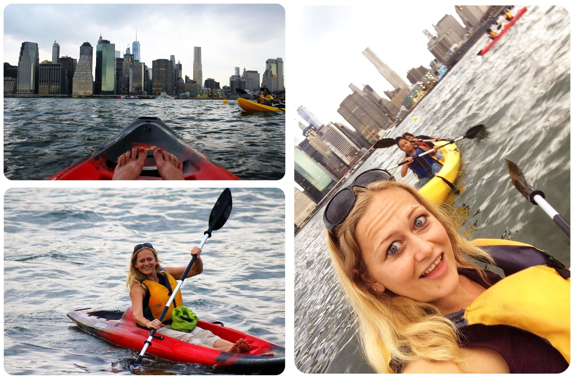 kayaking in new york
