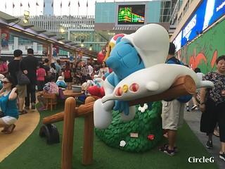 CIRCLEG 遊記 香港  尖沙咀 海港城 藍精靈 HABOUR CITY (36)