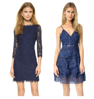 Obsessed with Blue Laces Dresses
