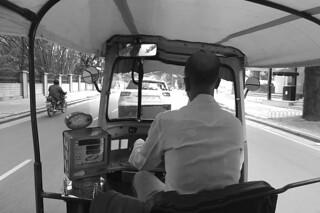 Bangalore - Tuk tuk bw