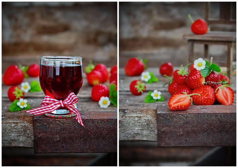 ...tincture strawberry collage