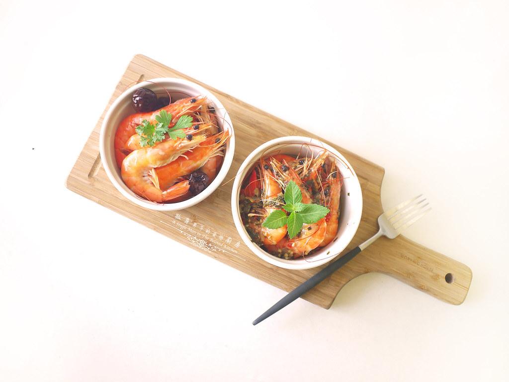 孤身廚房-超乎想像!解凍即食和現煮的一樣好吃—Mess Maker.蝦攪和.冷泡蝦8
