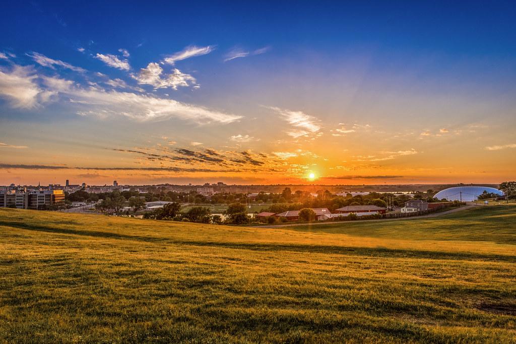Sunset at Fort Henry area, Kingston, ON