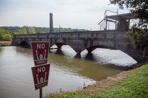 No swimming, no boating