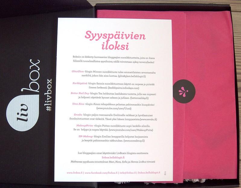 LivBox bloggaajaboxi Cutrin