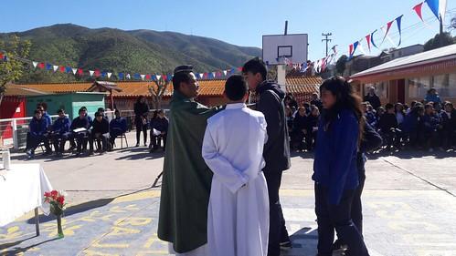 """Aniversario Nº 144 Escuela Canela Baja """"Día 01 Misa y Tarde de Zumba"""""""
