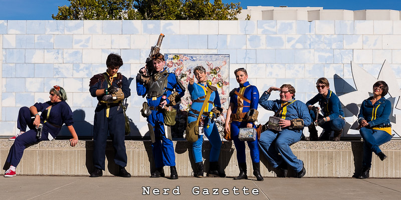 SacAnime Summer 2016 | Fallout Cosplay Gathering