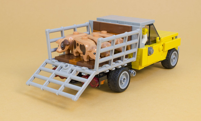 Lego Farm Truck Pulls Its Weight The Brothers Brick