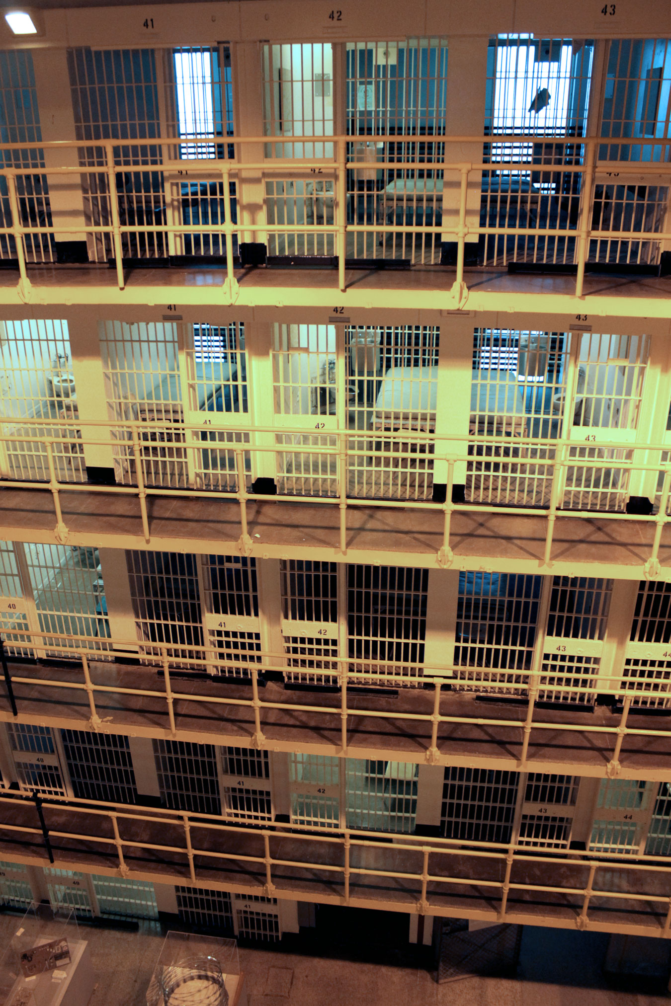 Cell Block 7: Go Inside Jackson's Eye-Opening Prison Museum // via Wading in Big Shoes (Photo taken and used with permission from the Michigan Department of Corrections)