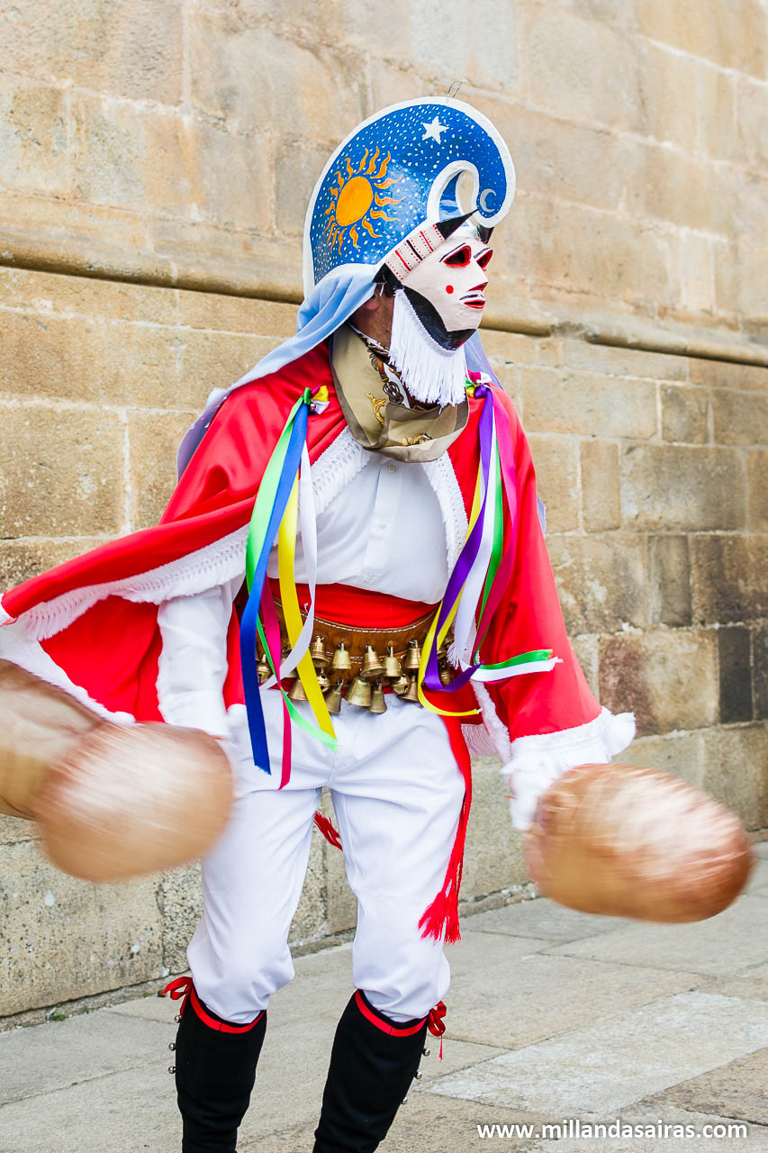 Pantalla de Xinzo de Limia, golpeando vejigas a buen ritmo