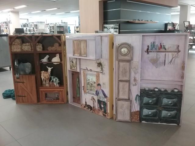 Bibliotheek - Tentoonstelling De Boekenhoeve