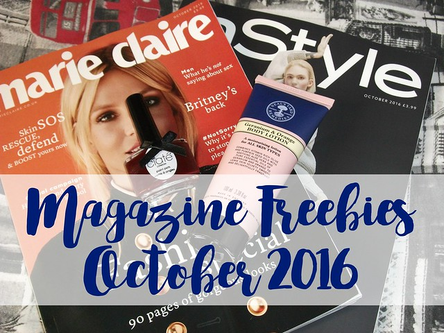Magazine Freebies October 2016