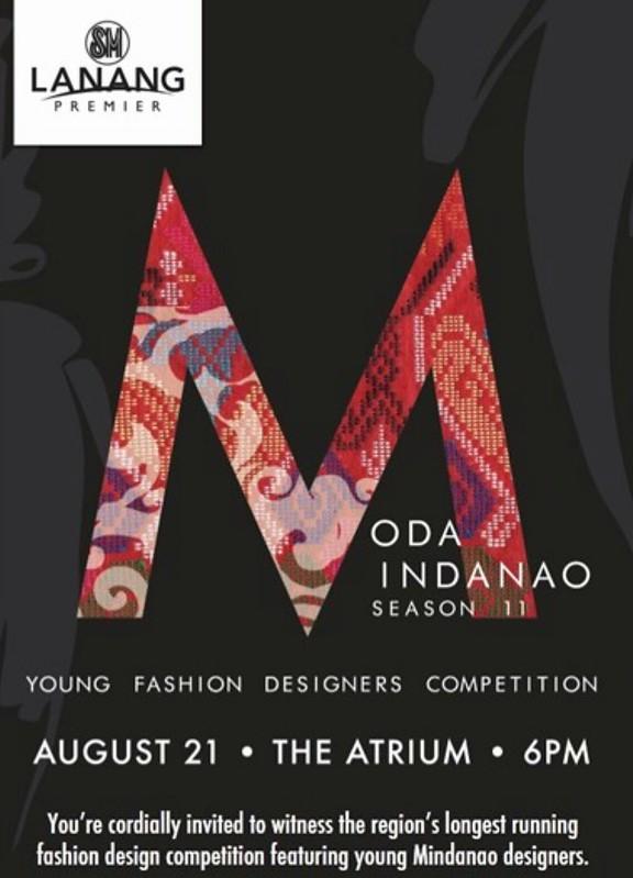 Moda Mindanao Season 11 Young Fashion Designers Competition SM Lanang Premier poster - DavaoLife.com