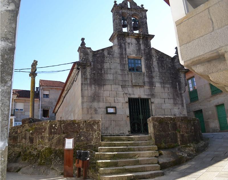 Iglesia de San Roque en Combarro