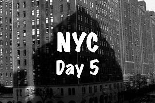 NYC Trip - Day 5 (Wednesday March 30th, 2016)