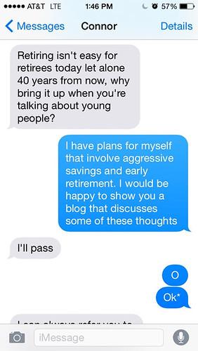 Retiring isn't easy