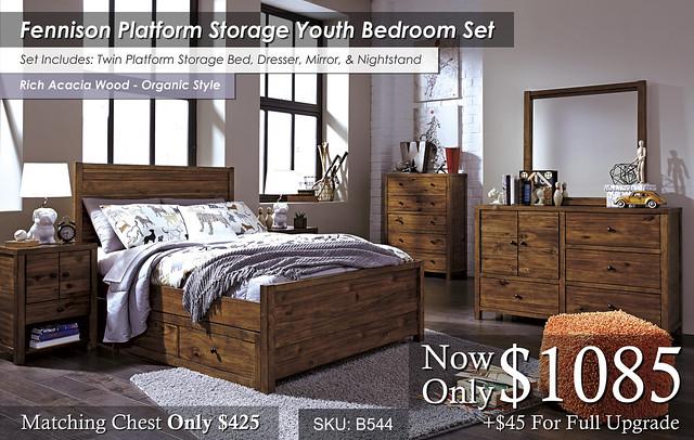 Fennison Platform Storage Youth Set B544-21-26-45-87-84-86S-60-91-Q731
