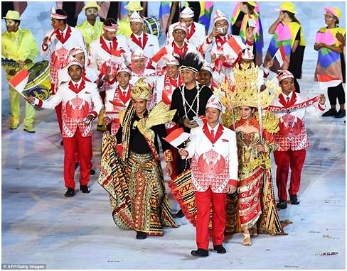 Kontingen Indonesia di Olimpiade Rio