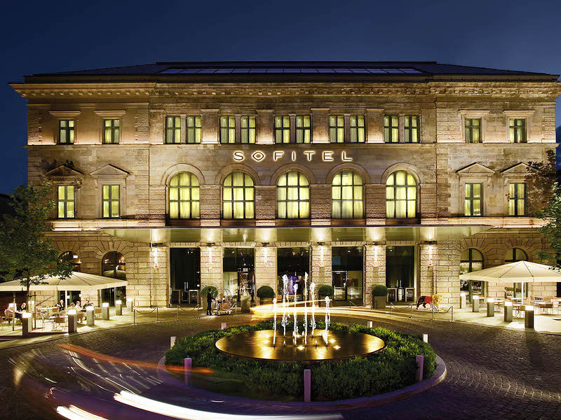 Exterior of the Sofitel Munich Bayerpost