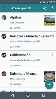 """""""Mendiak"""", Euskal Herriko mendien aplikazioa"""