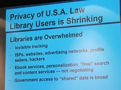 Privacy of USA Law Library Users is Shrinking