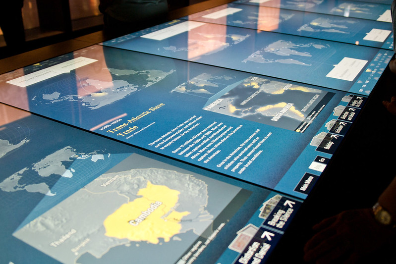 Interactive exhibits, Canadian Museum of Human Rights | packmeto.com
