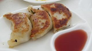 Pan-Fried Dumplings from Easy House