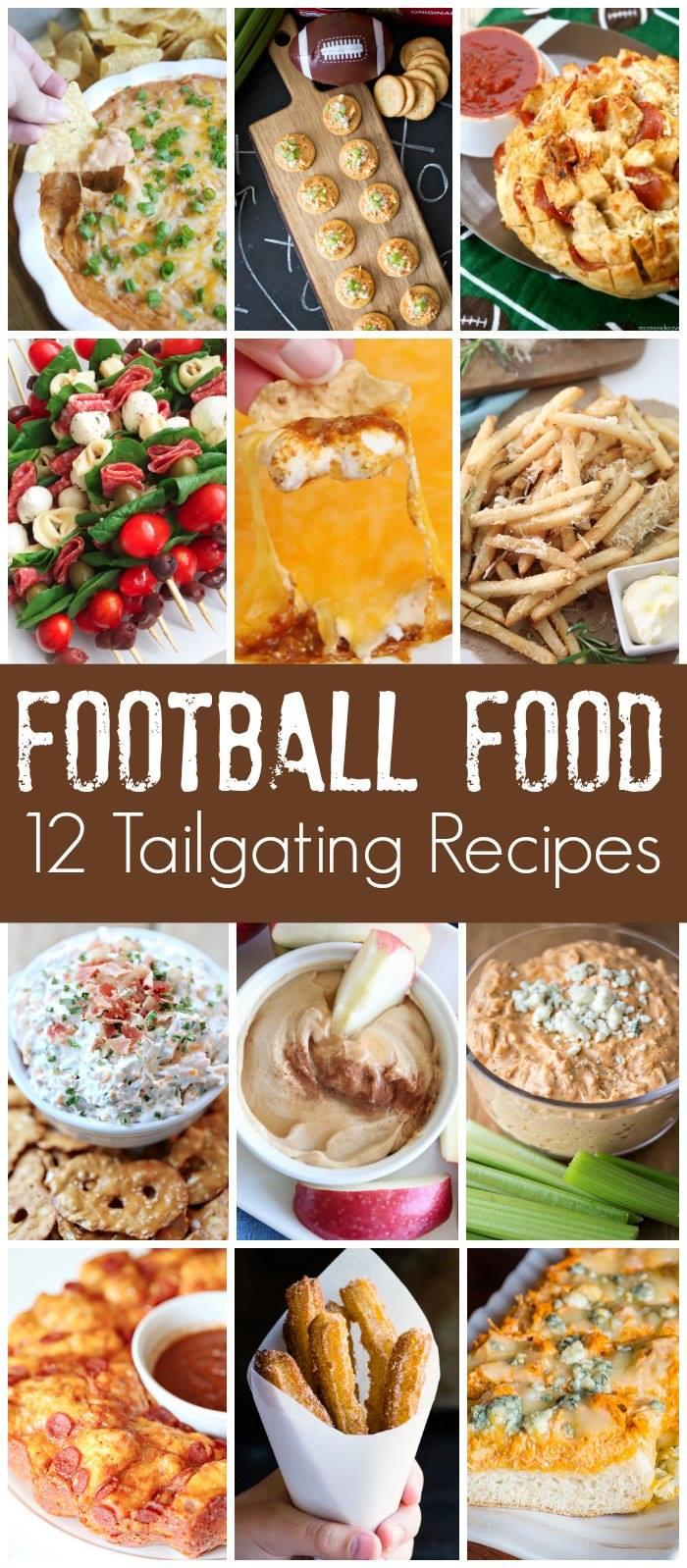 12 tailgating football recipes