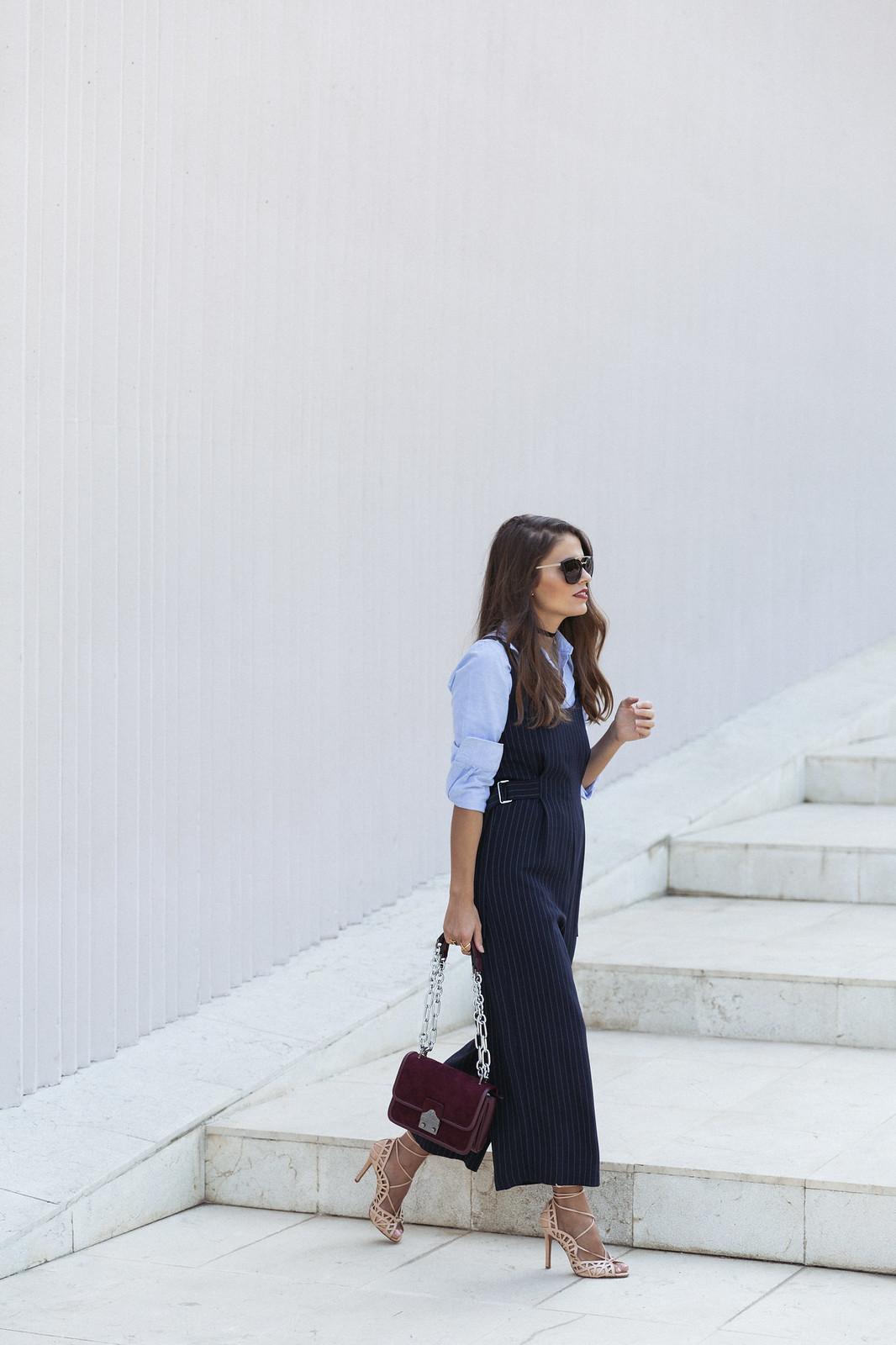 Jessie Chanes Seams for a desire - Pinstripped suit topshop heeled sandals schutz parfois bag  -1