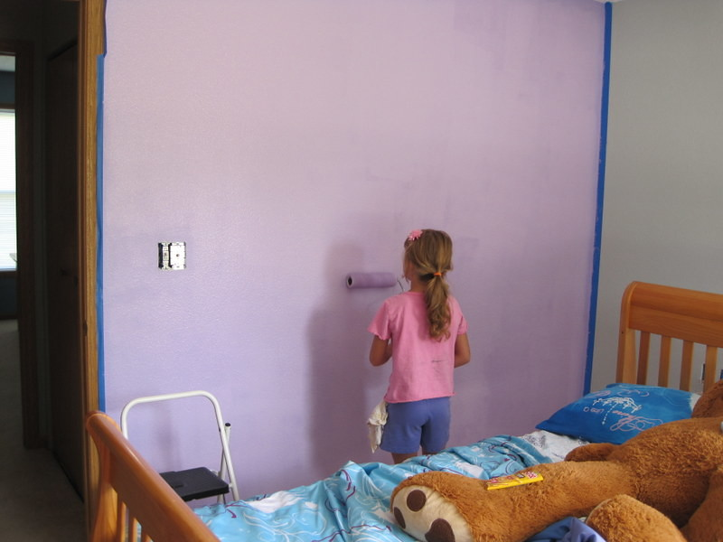 Painting Room - pink and purple 002
