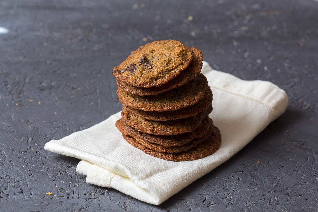 Buchweizen Schokoladen Cookies via lunchforone