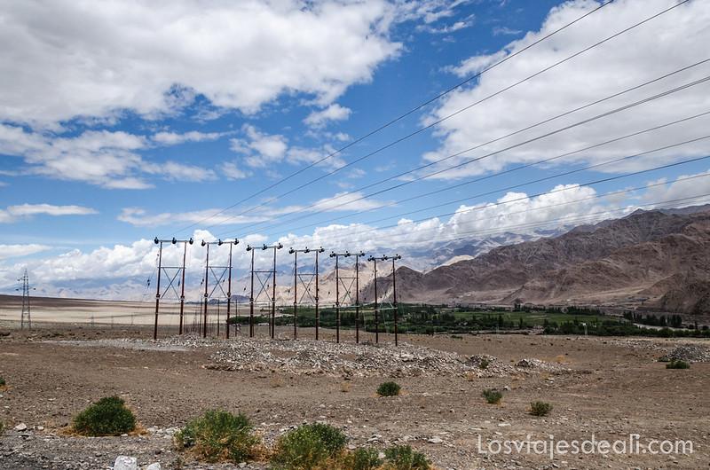 valle del indo en los alrededores de Leh