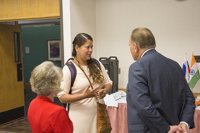 2016 International Student Reception